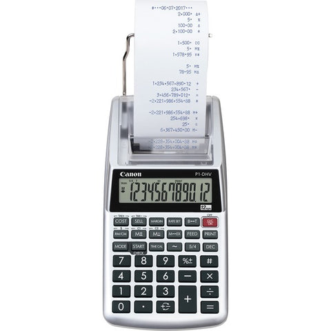 Canon, Inc P1DHV3 Compact Printing Calculator