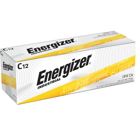 Energizer Holdings, Inc Industrial Alkaline C Batteries