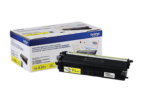 Brother Industries, Ltd HL-L8360CDW L9310CDW MFC-L8900CDW L9570CDW Super High Yield Yellow Toner Cartridge (6500 Yield)