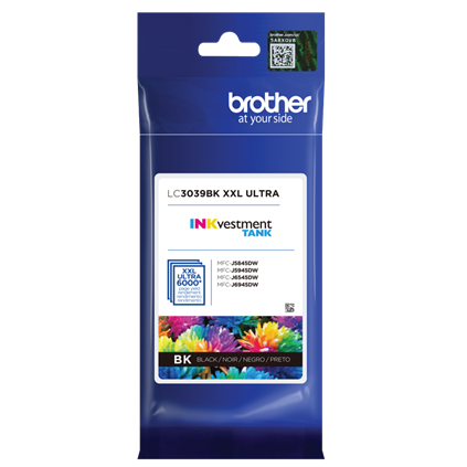 Brother INKvestment Tank Ultra High-yield Ink, Black