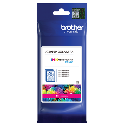 Brother INKvestment Tank Ultra High-yield Ink, Magenta