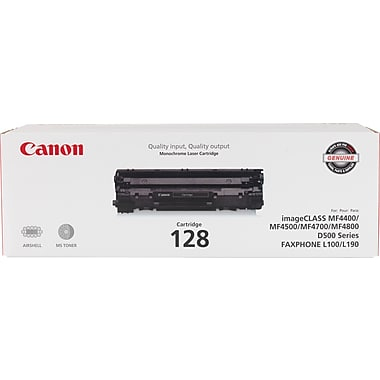 Canon, Inc (CRG-128) Faxphone L100 L190 imageCLASS D530 D550 MF4450 MF4570dn MF4570dw MF4770n MF4880dw MF4890dw Toner Cartridge (2100 Yield)