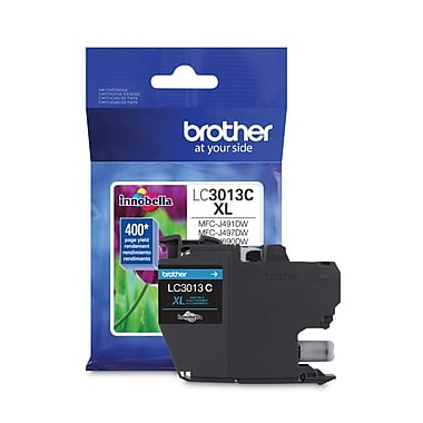 Brother LC3013CS High-yield Cyan Ink Cartridge