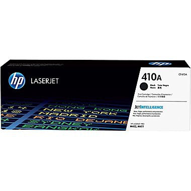 HP 410A (CF410A) Color LaserJet Pro M452 MFP M477 Black Original LaserJet Toner Cartridge (2300 Yield)
