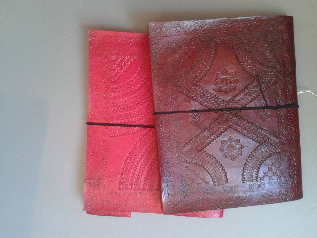 Embossed Sketchbook