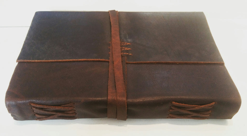 Leather Writersjournal BIEC Dark Brown Large