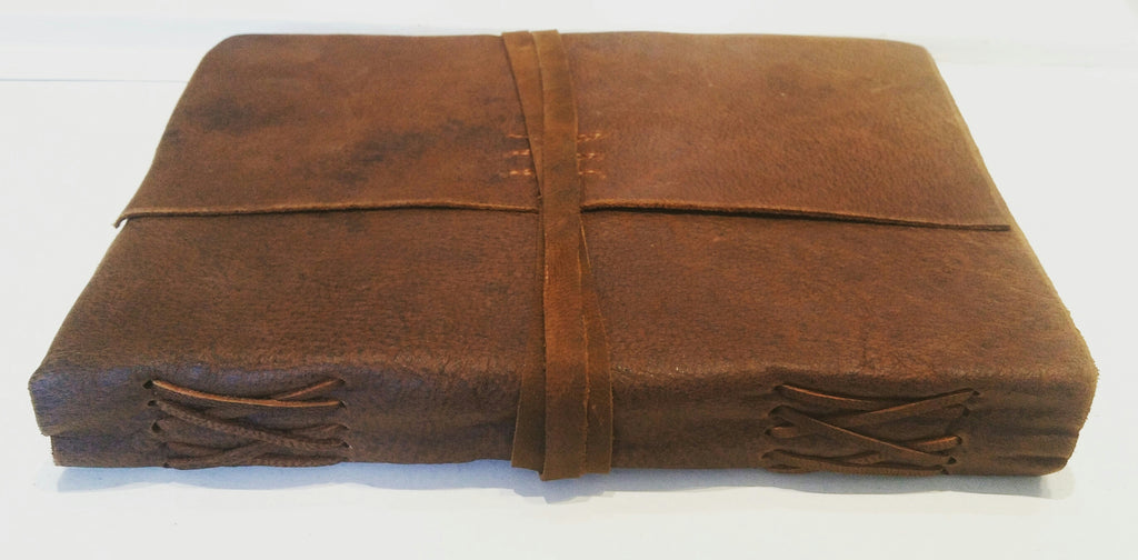 Leather Writersjournal Light Brown Large