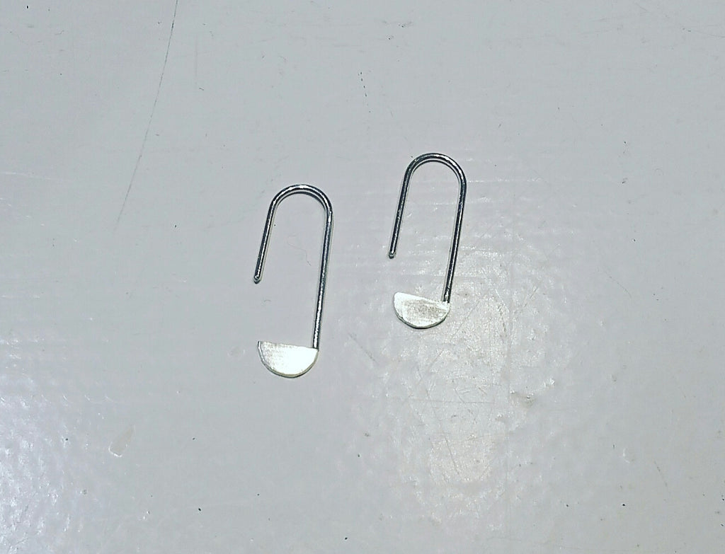 Sticktales earrings 'paperclips'