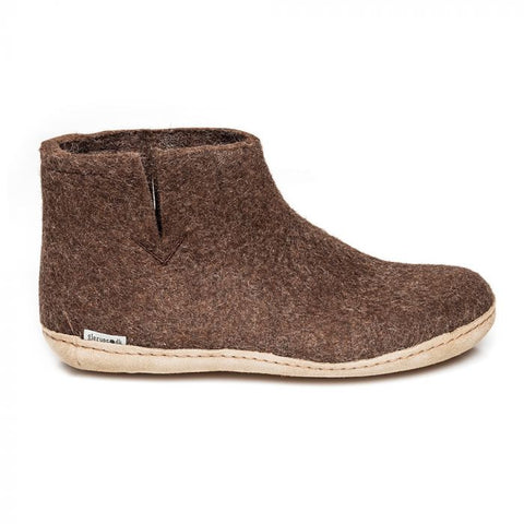 Glerups Slippers Brown