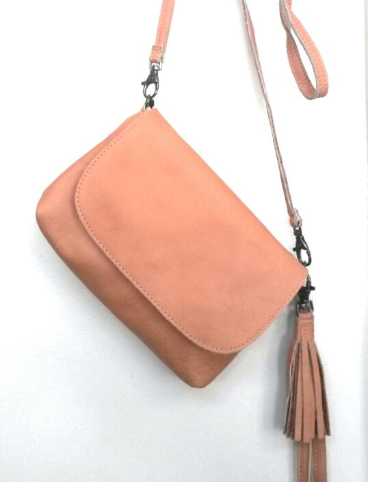 Elvy Gigi Little Festival Bag Asiago (light salmon)