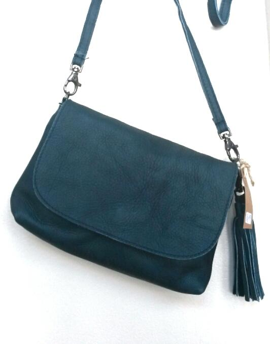 Elvy Gigi Little Festival Bag Petrollo (blue)