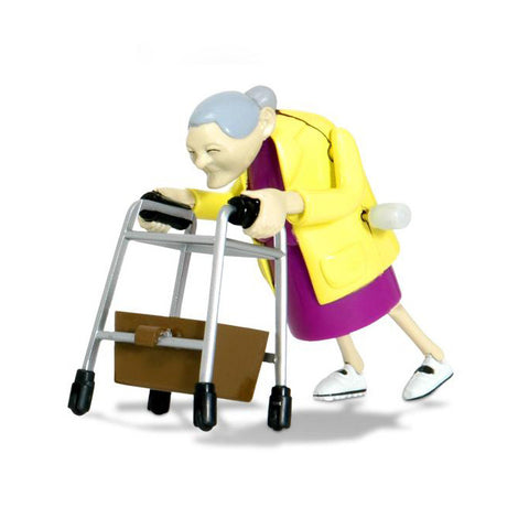 Racing Granny toy