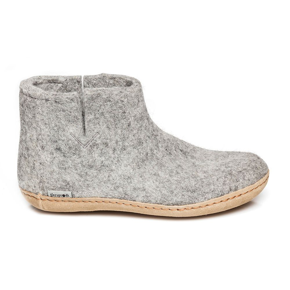 Glerups Slippers Grey
