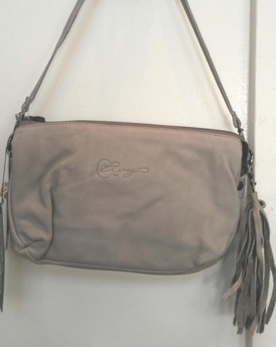Elvy Jolie Zipper Bag Pirite (light grey)