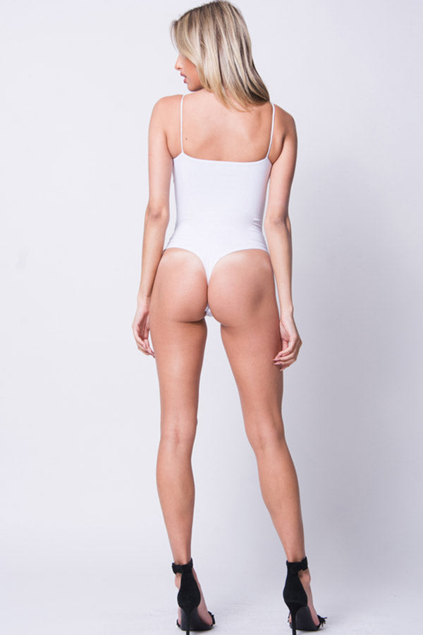 SQUARE NECK BODYSUIT
