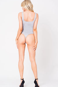 DEEP V SNAP BODYSUIT