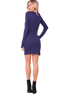 LS SIDE SLIT JERSEY MINI