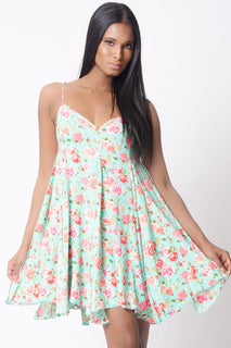 SHIFT FLORAL DRESS