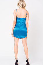 Load image into Gallery viewer, SATIN SLIP DRESS