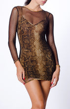Load image into Gallery viewer, MESH MINI DRESS