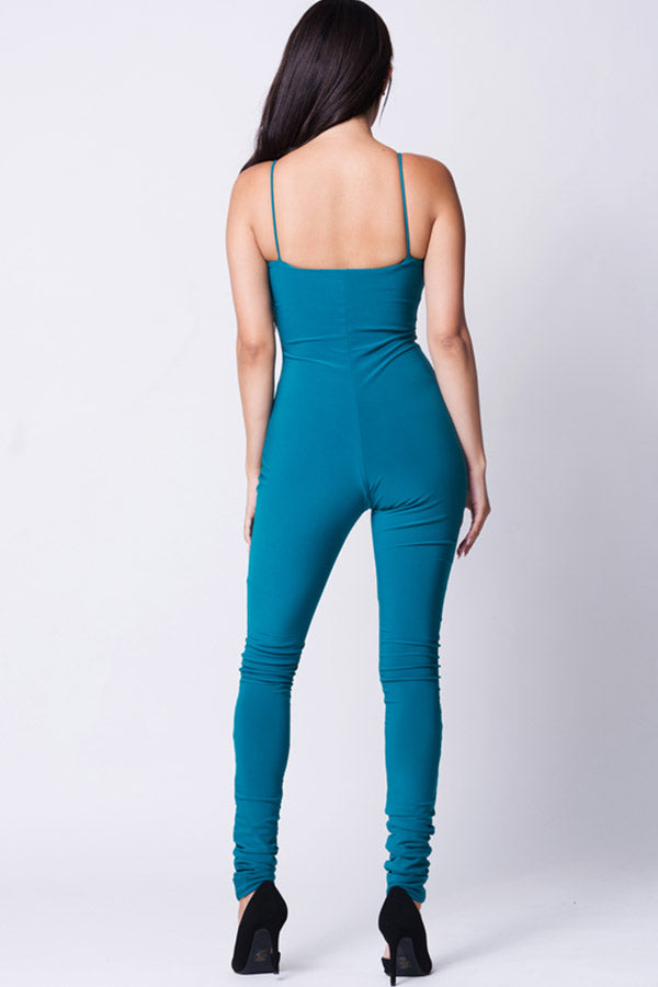DOUBLE LAYERED JUMPSUIT