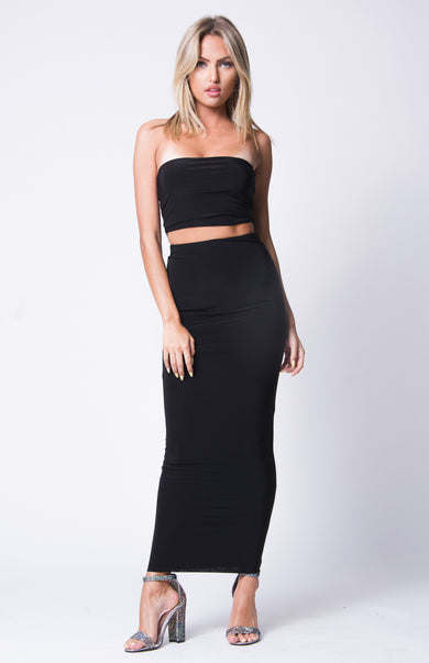 BANDEAU MAXI SKIRT SET