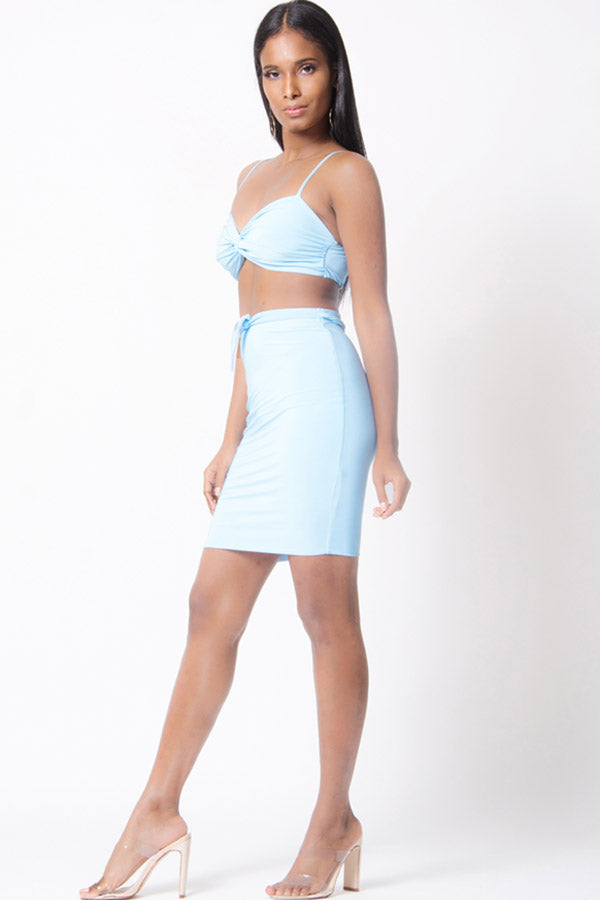 MINI 2PC SKIRT SET