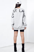 Load image into Gallery viewer, C'EST LA VIE OVERSIZED PULLOVER