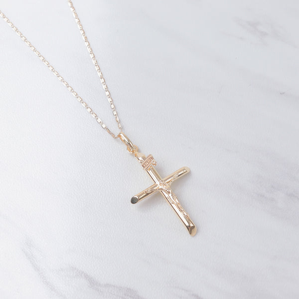 Simple Crucifix II Necklace