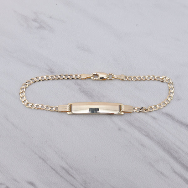 Personalized Name Plate Cuban Bracelet