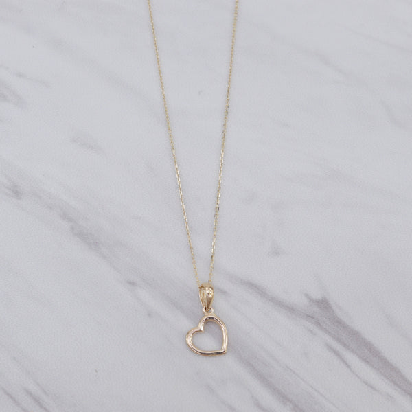 Side Heart Necklace