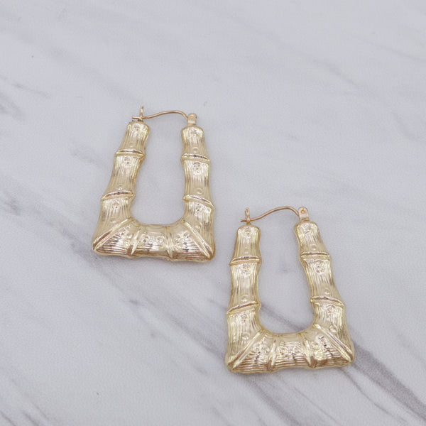 Quad Bamboo Earrings