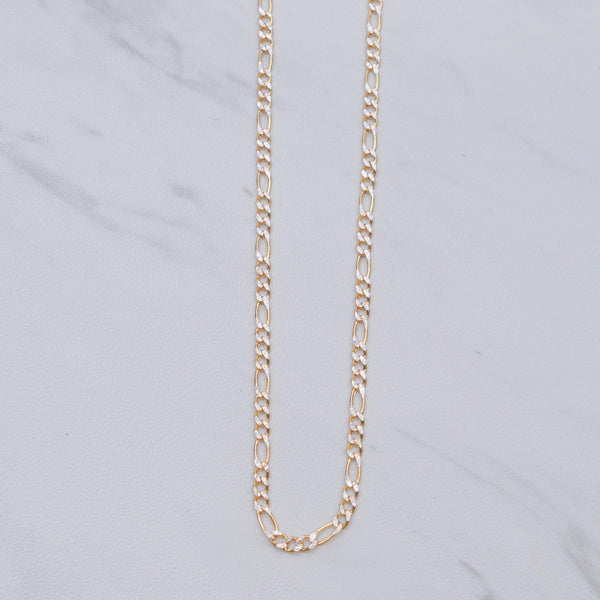 Two-Toned Figaro Chain