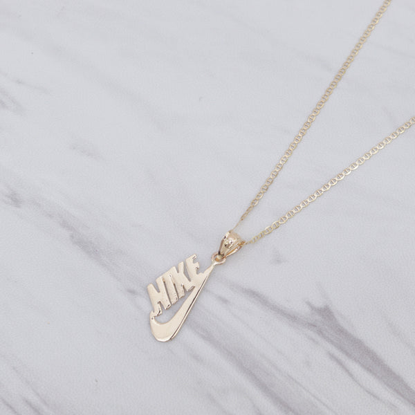 Nike Side Necklace