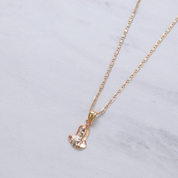 Mary Piece Necklace