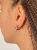 Mini Chubby Hoop Earrings