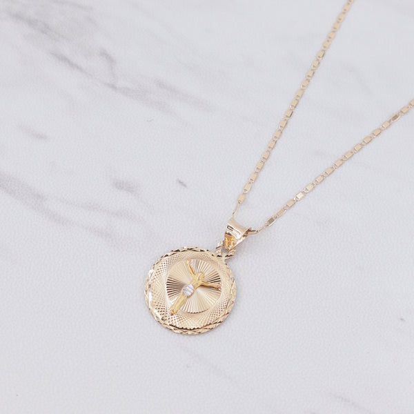 Jesus Insignia Medallion II Necklace