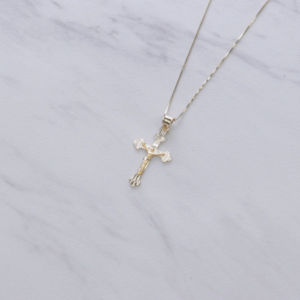 Simple Cross Insignia Necklace