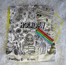 Load image into Gallery viewer, Fun Box Activity - Draw String Bag - Holiday