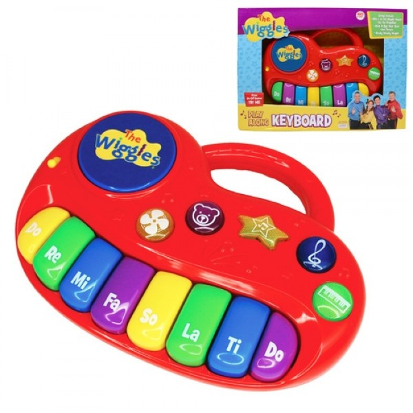 The Wiggles Play Along Musical Keyboard