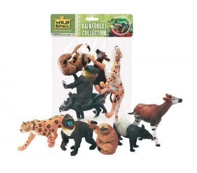Wild Republic Poly Bag of Animal Play Figures