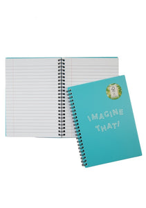 A5 Notebook - Imagine That