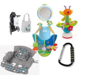 Out and About Baby Accessories Bundle