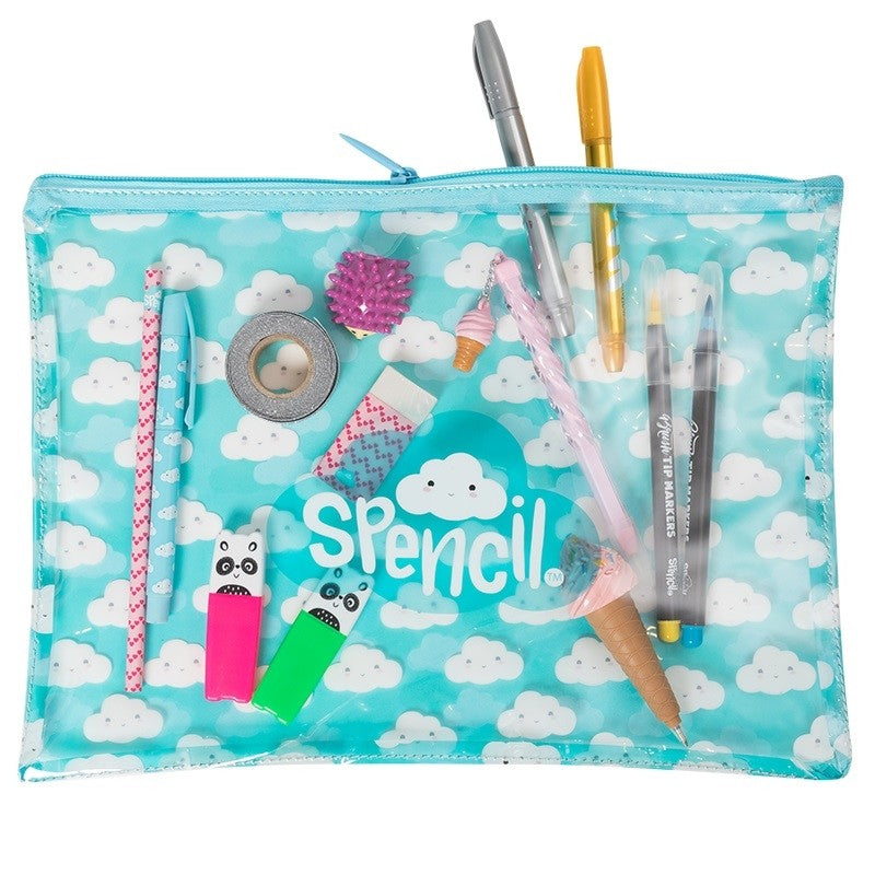 A4 Stationery Case - Cloud