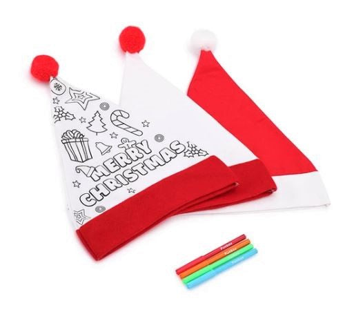 Colour In Santa Hat