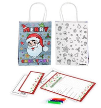 Load image into Gallery viewer, Letter to Santa Gift Bag Kit
