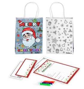 Letter to Santa Gift Bag Kit