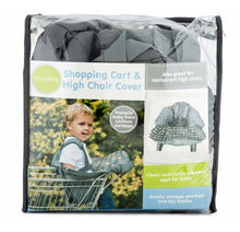 Load image into Gallery viewer, Playette Shopping Trolley Cover & High Chair Cover