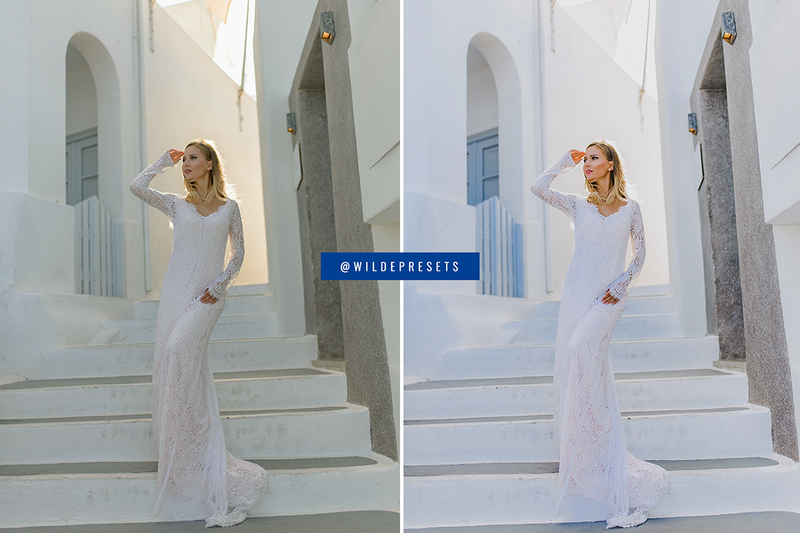 NEW!! The Santorini Blue Collection
