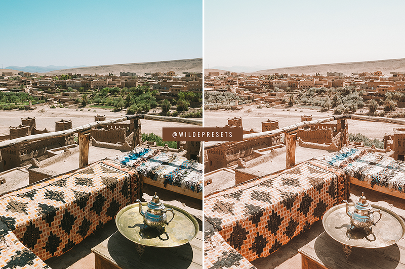 The Warm Morocco Collection